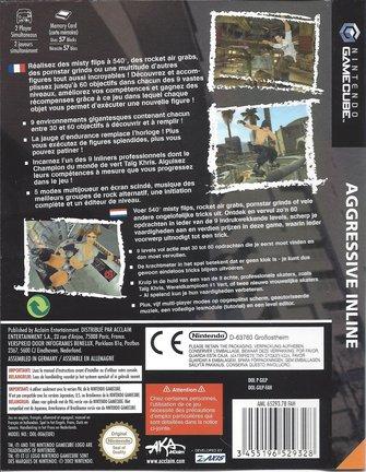AGGRESSIVE INLINE für Nintendo Gamecube