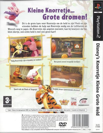 DISNEY'S KNORRETJE KLEINE GROTE HELD für Playstation 2 PS2
