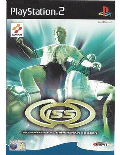 INTERNATIONALSUPERSTAR SOCCER voor Playstation 2 PS2