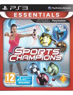 SPORTS CHAMPIONS for Playstation 3 PS3