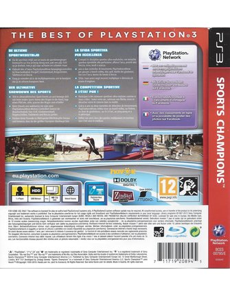 SPORTS CHAMPIONS voor Playstation 3 PS3