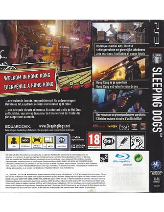 SLEEPING DOGS für Playstation 3 PS3