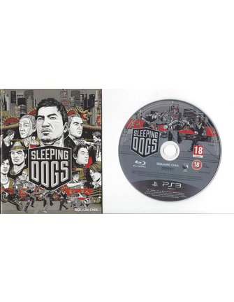SLEEPING DOGS for Playstation 3 PS3