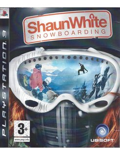 SHAUN WHITE SNOWBOARDING voor Playstation 3 PS3