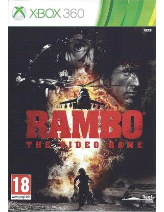 RAMBO THE VIDEO GAME für Xbox 360