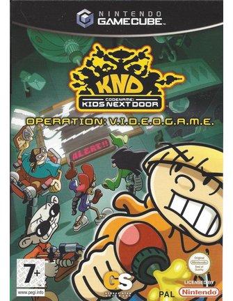 CODENAME KIDS NEXT DOOR OPERATION VIDEOGAME for Nintendo Gamecube