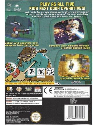 CODENAME KIDS NEXT DOOR OPERATION VIDEOGAME für Nintendo Gamecube