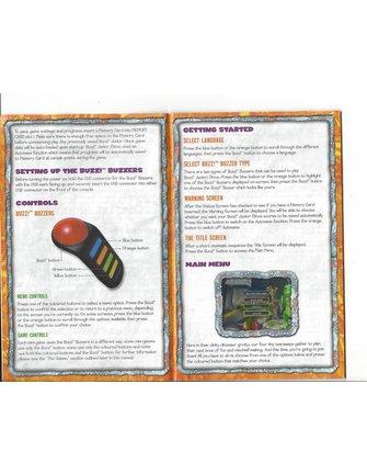 BUZZ JUNIOR DINOS - DINO DEN for Playstation 2 PS2