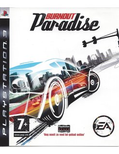 BURNOUT PARADISE voor Playstation 3 PS3
