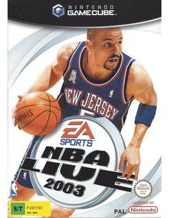 NBA LIVE 2003 voor Nintendo Gamecube