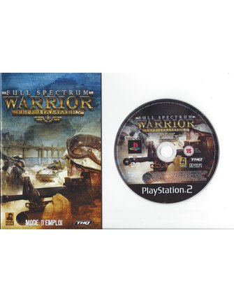 FULL SPECTRUM WARRIOR TEN HAMMERS voor Playstation 2 PS2