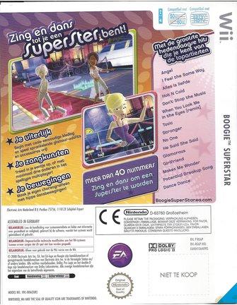 BOOGIE SUPERSTAR voor Nintendo Wii