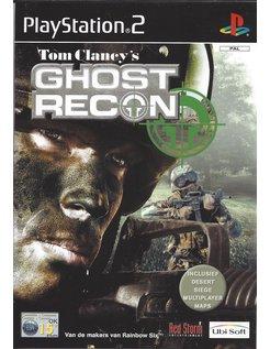 TOM CLANCY'S GHOST RECON voor Playstation 2 PS2