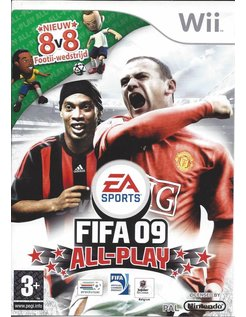 FIFA 09 ALL PLAY für Nintendo Wii