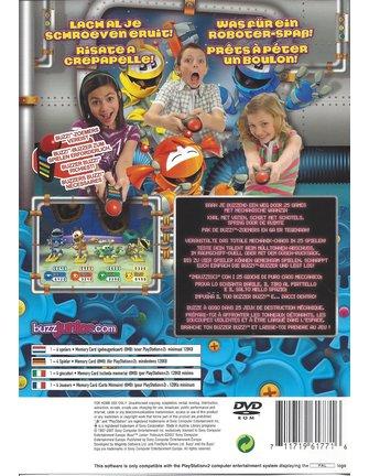 BUZZ JUNIOR ROBOJAM voor Playstation 2 PS2