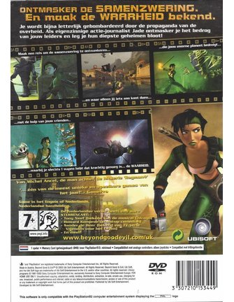 BEYOND GOOD AND EVIL voor Playstation 2 PS2