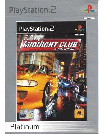 MIDNIGHT CLUB für Playstation 2 PS2 - Copy