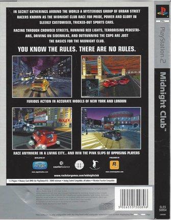 MIDNIGHT CLUB voor Playstation 2 PS2 - Copy
