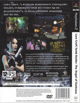 LARA CROFT TOMB RAIDER - ANGEL OF DARKNESS voor Playstation 2 PS2
