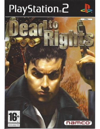 DEAD TO RIGHTS voor Playstation 2 PS2
