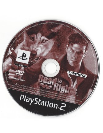 DEAD TO RIGHTS für Playstation 2 PS2