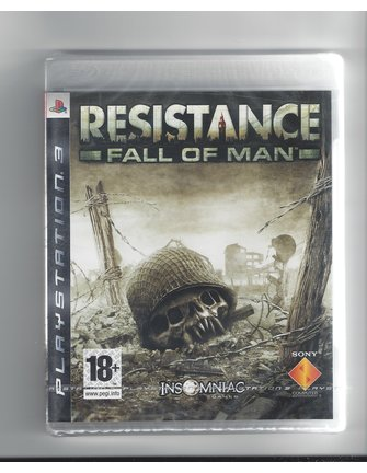 RESISTANCE FALL OF MAN for Playstation 3 PS3 - NEW