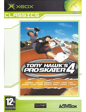 TONY HAWK'S PRO SKATER 4 für Xbox