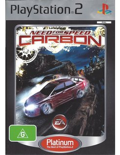 NEED FOR SPEED CARBON voor Playstation 2 PS2 - Platinum