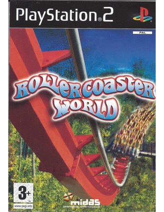 ROLLERCOASTER WORLD voor Playstation 2 PS2