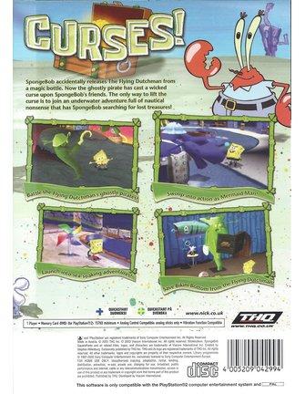 SPONGEBOB SQUAREPANTS REVENGE OF THE FLYING DUTCHMAN voor Playstation 2 PS2