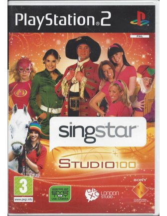SINGSTAR STUDIO 100 voor Playstation 2 PS2
