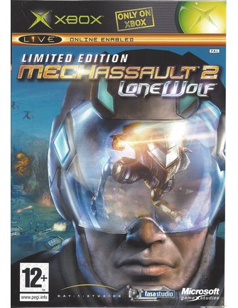 MECH ASSAULT 2 LONE WOLF LIMITED EDITION voor Xbox