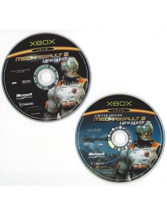 MECH ASSAULT 2 LONE WOLF LIMITED EDITION for Xbox