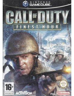 CALL OF DUTY FINEST HOUR voor Nintendo Gamecube