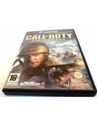 CALL OF DUTY FINEST HOUR for Nintendo Gamecube