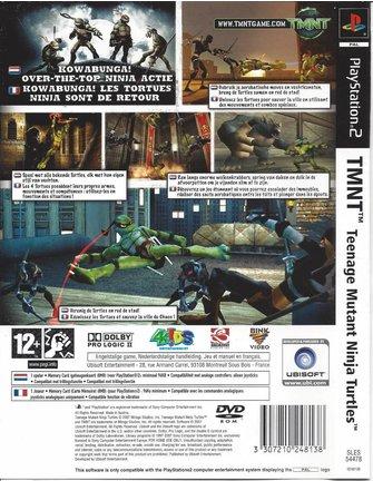 TMNT TEENAGE MUTANT NINJA TURTLES for Playstation 2 PS2