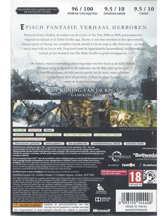 THE ELDER SCROLLS V SKYRIM voor Xbox 360
