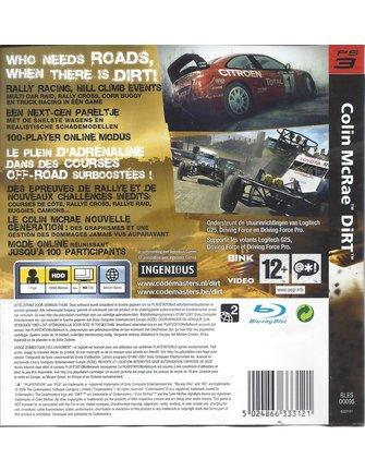 COLIN MCRAE DIRT voor Playstation 3 PS3