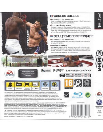 MMA for Playstation 3 PS3
