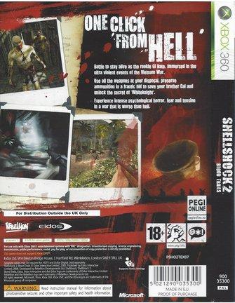 SHELLSHOCK 2 BLOOD TRAILS for Xbox 360