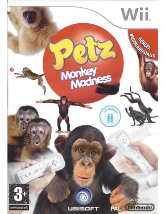 PETZ MONKEY MADNESS für Nintendo Wii