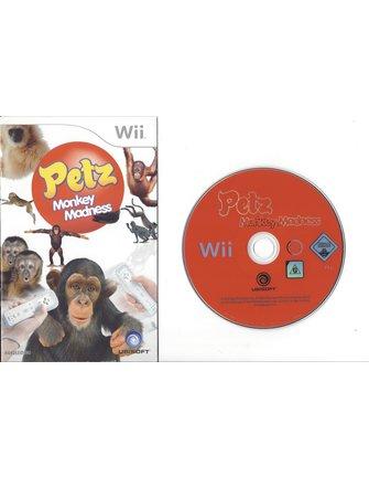 PETZ MONKEY MADNESS voor Nintendo Wii