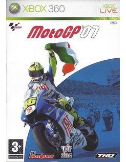 MOTOGP 07 MOTO GP 07 for Xbox 360