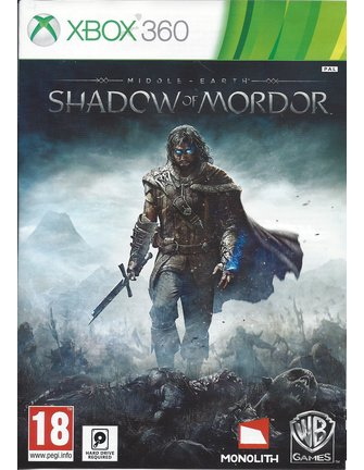 MIDDLE-EARTH SHADOW OF MORDOR voor Xbox 360