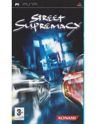 STREET SUPREMACY voor PSP