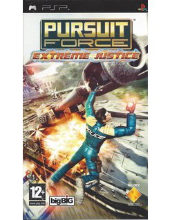 PURSUIT FORCE EXTREME JUSTICE voor PSP