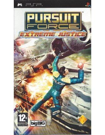 PURSUIT FORCE EXTREME JUSTICE voor PSP