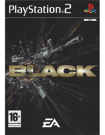 BLACK for Playstation 2 PS2