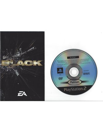BLACK voor Playstation 2 PS2