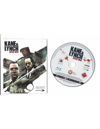 KANE AND LYNCH DEAD MEN voor Playstation 3 PS3